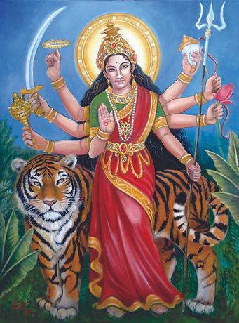 Durga, Goddess of Motherhood