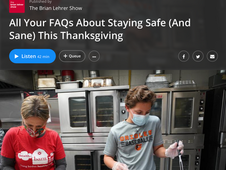 All Your FAQs About Staying Safe (And Sane) This Thanksgiving