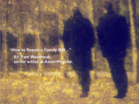 How to Repair a Family Rift...