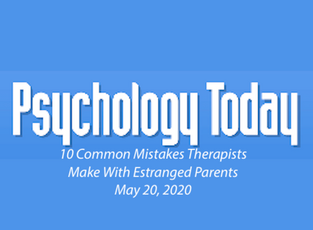 10 Common Mistakes Therapists Make With Estranged Parents