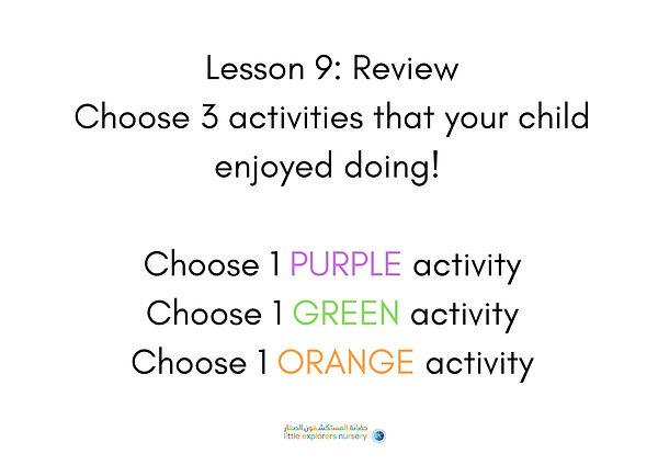 Lesson 9 LEN