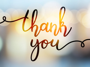 The importance of a thank you in healthcare