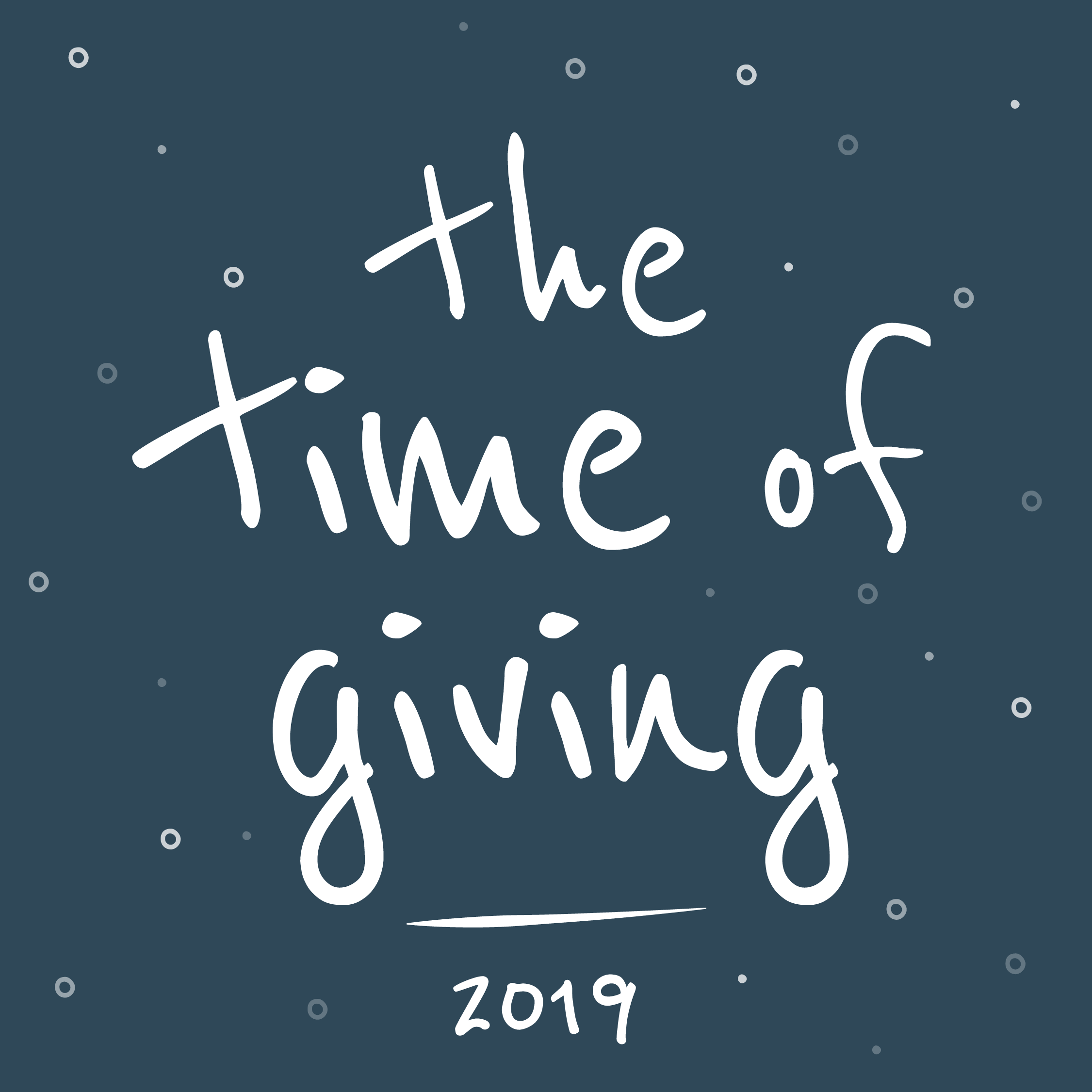 The time of giving 2019
