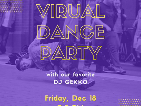 PTA hosts first Virtual Dance Party with fan favorite, DJ Gekko