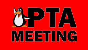 Last General PTA Meeting for 2021
