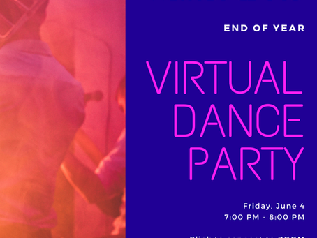 PTA Host End-of-Year Virtual Dance Party with DJ Gekko