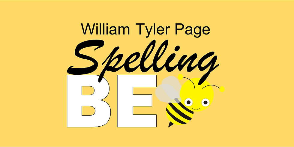 WT Page PTA Spelling Bee