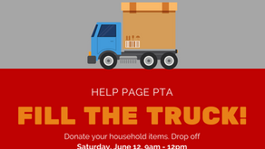 FILL THE TRUCK! June 12, 9am-12pm. Donate your clothing, books, and household items.