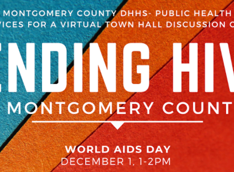 MoCo HHS hosts virtual town hall for World AIDS Day Dec 1