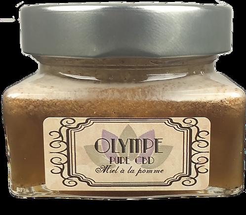 Miel à la pomme séchée