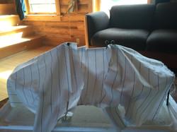 sail cloth deployed