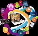 digital-data-multimedia-library-telephon