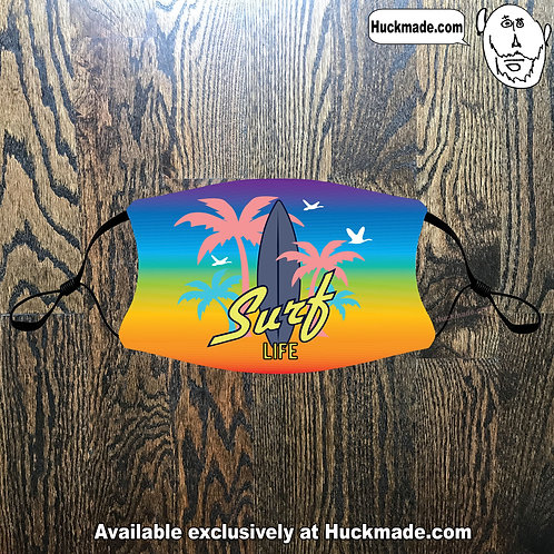 Surf Life: Youth Face mask