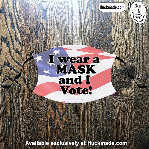 Masked Voter: Adult Face masks (3 styles)