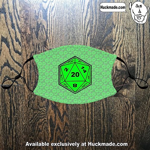 D20: Adult Face masks (4 Styles)