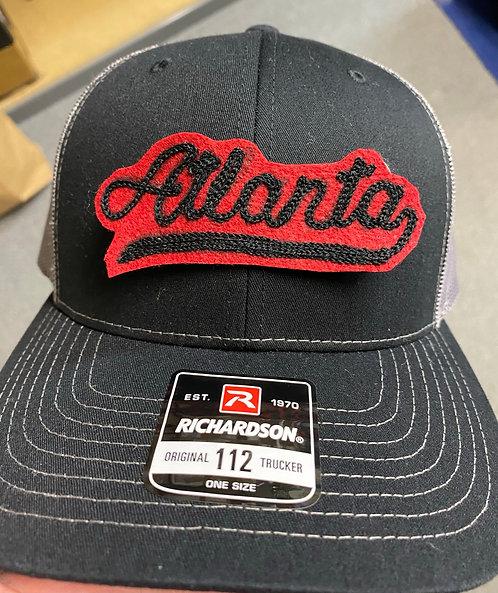 Atlanta Varsity Chainstitch: Trucker Hat