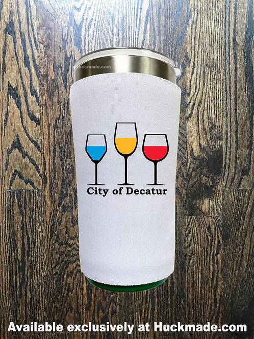 Decatur Wine Glasses: Yeti 20oz Koozie