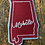 Thumbnail: State Varsity Silhouettes: Custom Chainstitch Patch