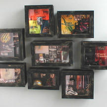 Shadow box memorial
