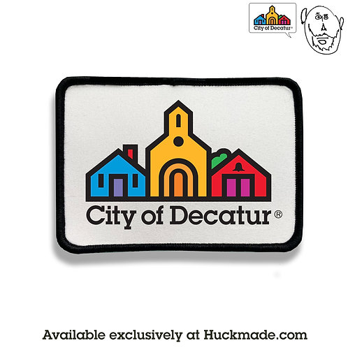 City of Decatur: Patch (printed iron-on)