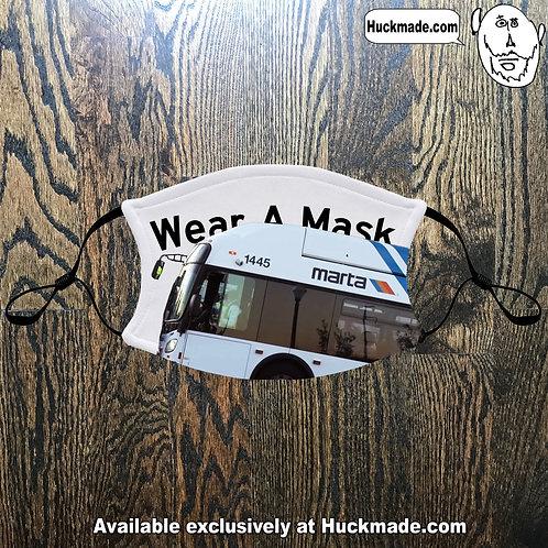Wear A Mask (MARTA Bus):  Adult Face mask