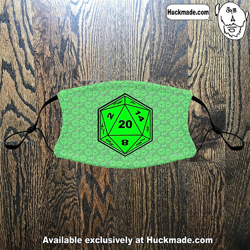 D20: Youth Face masks (3 styles)