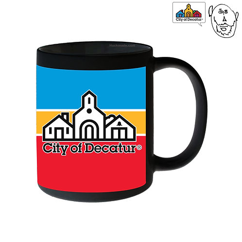 City of Decatur stripe logo: Coffee Mug