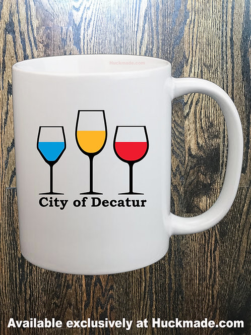 Decatur Wine: Coffee Mug