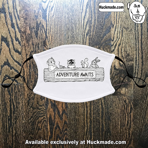 Adventure Awaits: Adult Face mask