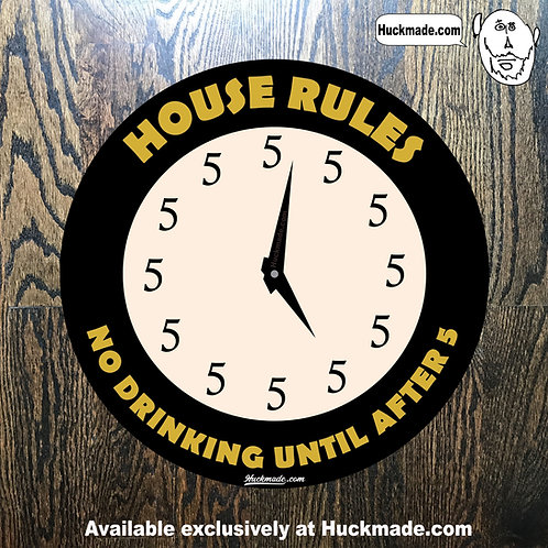House Rules: Sticker