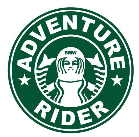 Custom Adventure Rider decal design