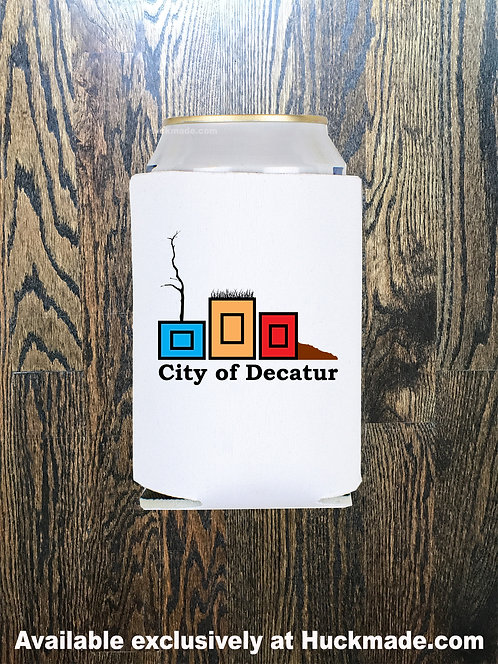 City of Decatur Planters, Decatur Planters, planterpride, Huckmade, Huckleberry Starnes, city of decatur, coozie, koozie