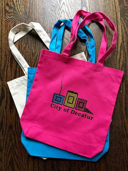 City of Decatur Planters, Decatur Planters, decatur planters bag, planterpride, huckmade, city of decatur, tote bag