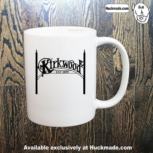 Kirkwood Sign: Coffee Mug