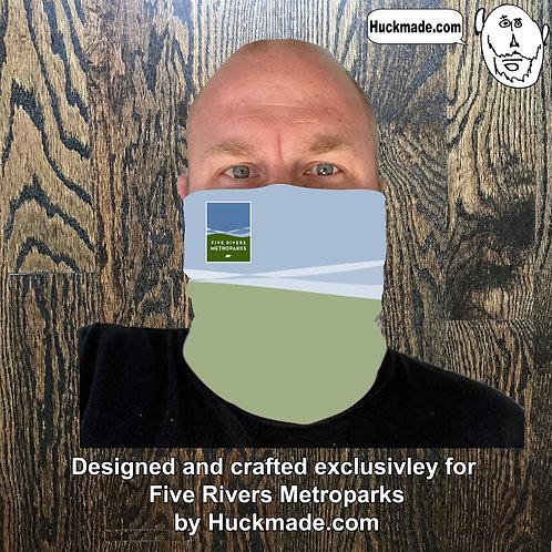 5 Rivers Metroparks: Custom Neck Gaiter/Face mask (design 2)