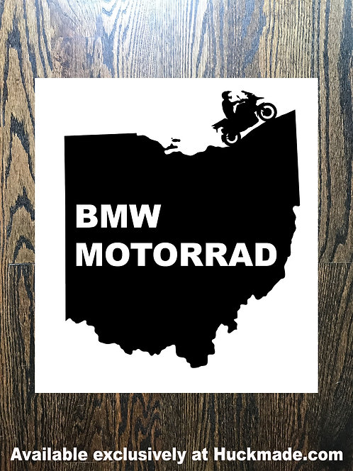 BMW Motorrad State Rider: Decal (Available in all 50 states)