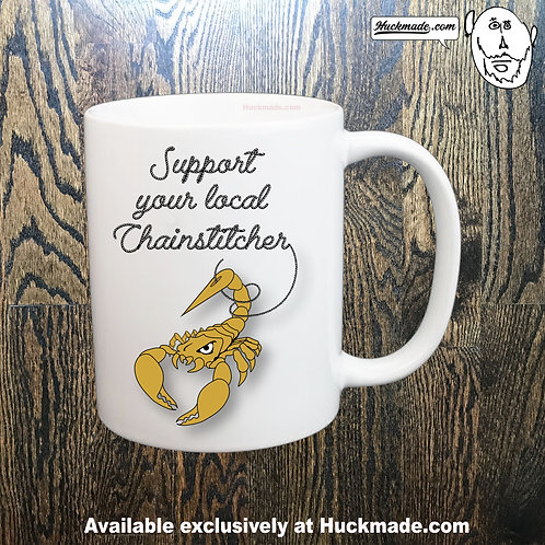 Support your local Chainstitcher: Coffee Mug