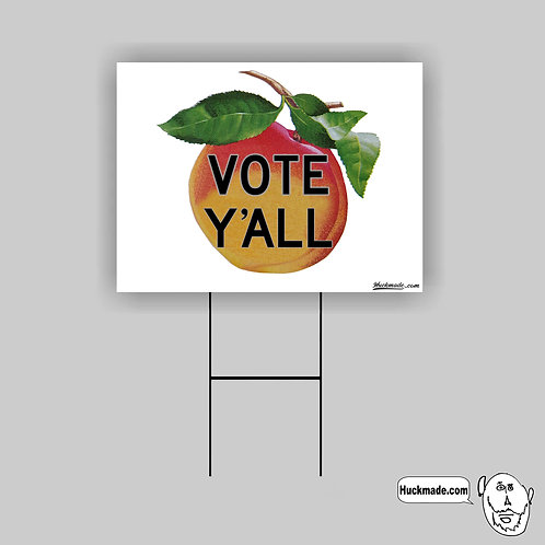 Vote Y'all: Yard Sign