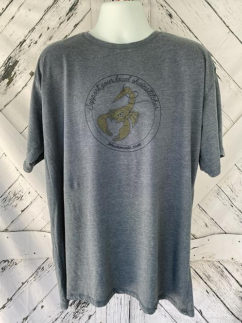"Vintage ""Support your local chainstitcher"": Unisex T-Shirt"