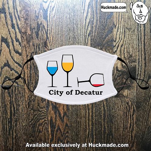 Decatur Wine Party: Adult Face mask