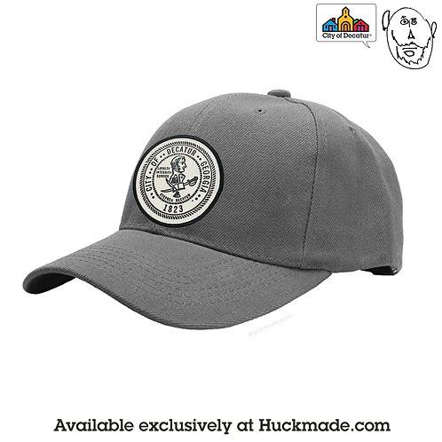 Historic City of Decatur seal: Baseball Hat