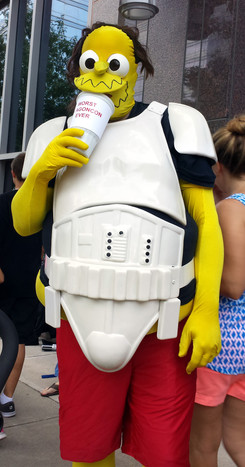 Comicbook Store Guy as a Stormtrooper