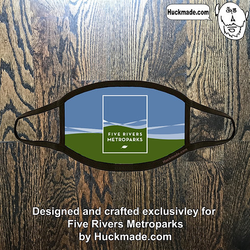 5 Rivers Metroparks: Custom Plush Face mask (Design 2)