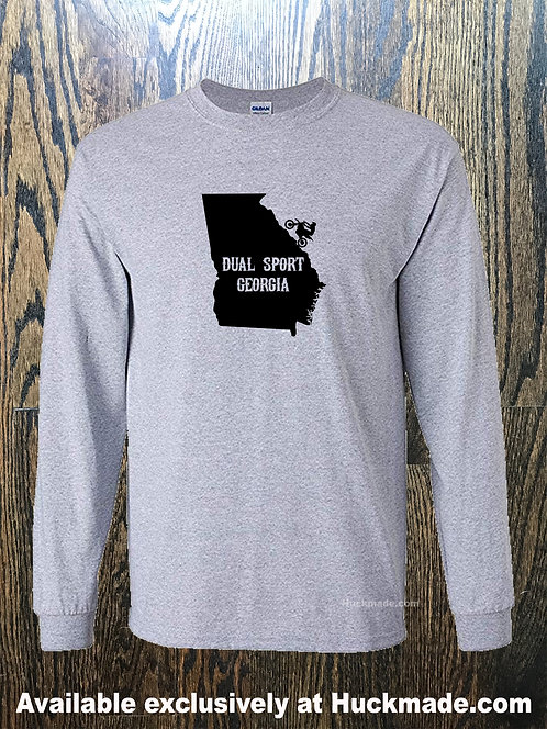 Dual Sport: Adult Long Sleeve Shirt (all 50 states available)