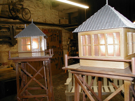 Fire Tower model made for Brookgreen Gardens