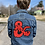 Custom Jacket, Jacket, Jean Jacket, chainstitch, huckmade, D&D, dungeon master, Dungeon and Dragons