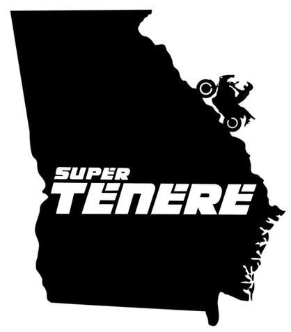 Super Tenere Georgia decal