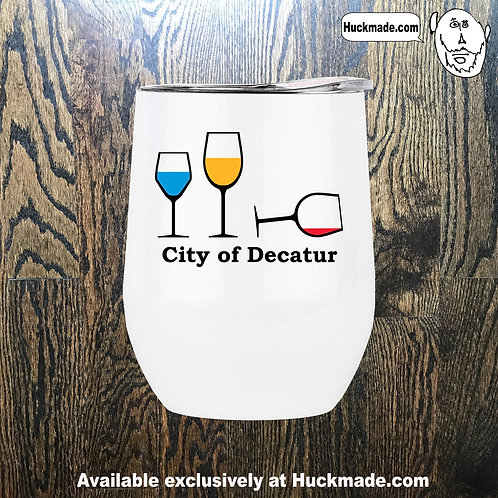 Decatur Wine Party: Stainless Steel Wine Tumbler