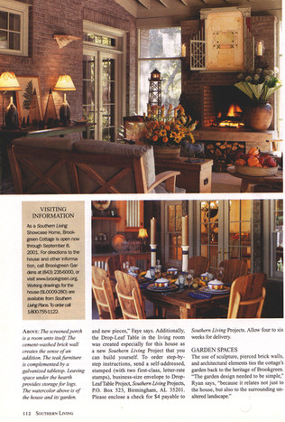 Pictrure frame and fire tower in Southern Living