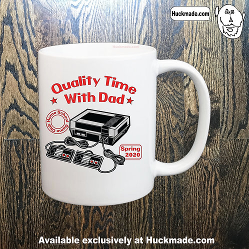 Quality Time with Dad (Nintendo): Coffee Mug